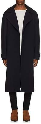 Martin Grant Men's Brushed Wool Melton Overcoat