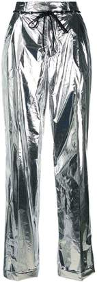 Maison Margiela metallic trousers