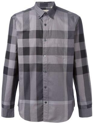 Burberry 'Fred' shirt $255.54 thestylecure.com
