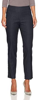 Ruby Rd. Women's Petite Pull-On Heathered Millennium Tech Stretch Pant