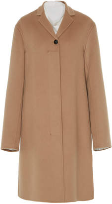 Jil Sander Green Bay Cashmere Coat