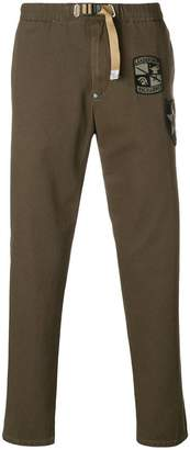 White Sand double patch trousers