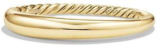 David Yurman Pure Form Smooth Bracelet in 18K Gold