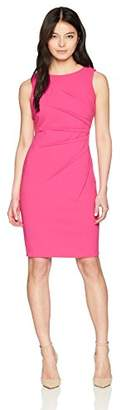 Calvin Klein Women's Petite Sleeveless Starburst Sheath Dress