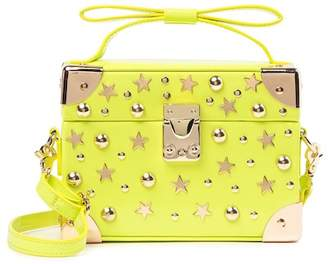 Betsey Johnson Don't Box Me In Embellished Top Handle Crossbody Bag