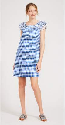 J.Mclaughlin Kris Linen Dress in Gingham