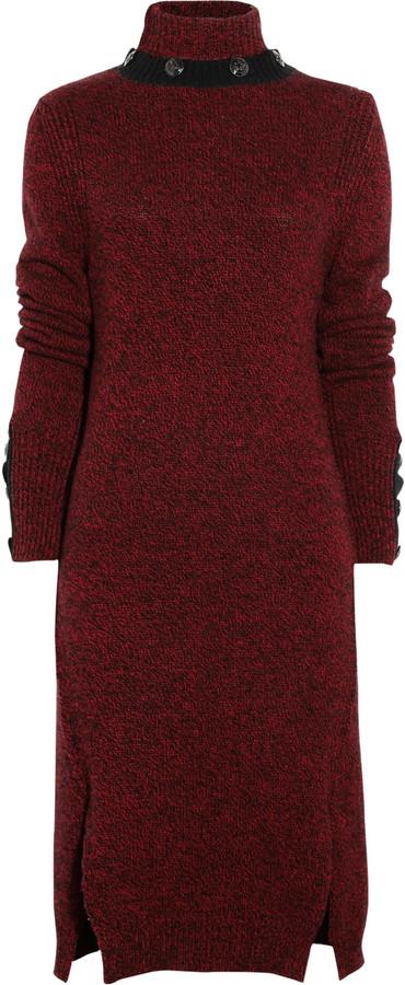 McQ by Alexander McQueen Turtleneck wool sweater dress