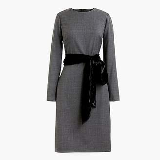 J.Crew Day-to-night dress in exeter flannel
