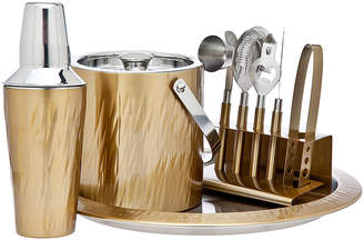 Godinger Aztec Gold 9-Piece Barware Set