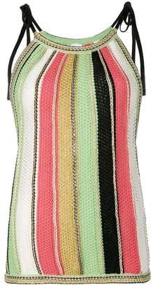 Missoni striped knit tank top