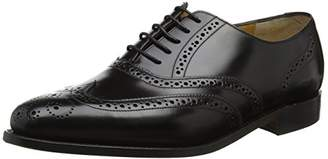 Barker Men''s Albert Oxfords, (Black Hi-Shine), 44 EU