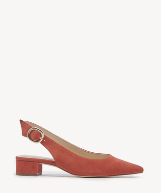 Sole Society Women's Mariol Slingback Pumps Fire Fly Size 5 Haircalf From