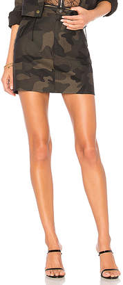 superdown Isabela Camo Mini Skirt