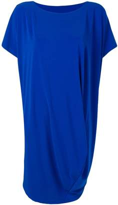 Issey Miyake shortsleeved draped dress