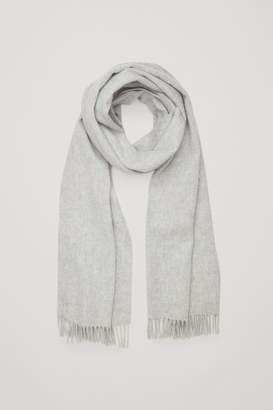 Cos WOOL-CASHMERE SCARF