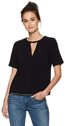 Armani Jeans Women's V Cut Out Top