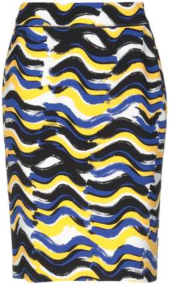 Boss Black Knee length skirts - Item 35394409SE