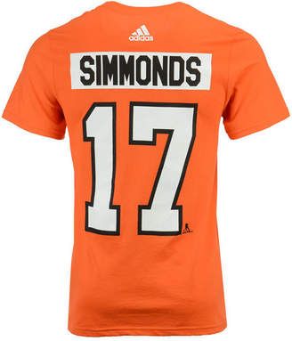adidas Men's Wayne Simmonds Philadelphia Flyers Silver Player T-Shirt