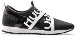 HUGO BOSS Leather Sneaker Hybrid Runn 11 Black