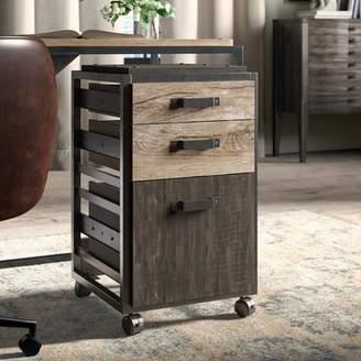 Greyleigh Rosemarie 3 Drawer Mobile Vertical Filing Cabinet