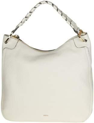 Furla rialto Xl Bag In White Color Leather