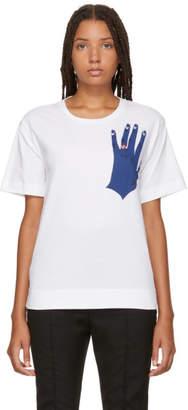 Marni White Hand Karma T-Shirt