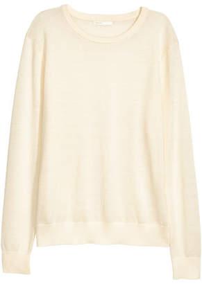 H&M Knit Wool Sweater - White