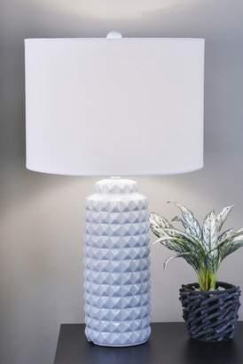 J. Hunt Max Studded Ceramic Table Lamp
