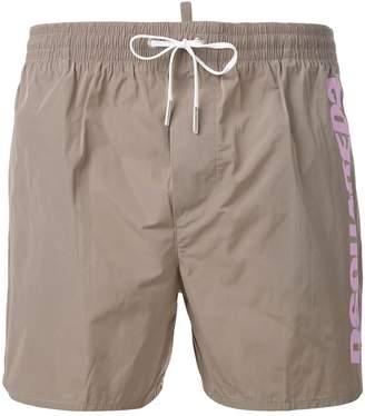 DSQUARED2 side logo swim shorts