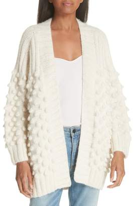 Eleven Paris SIX Lian Alpaca Blend Popcorn Knit Cardigan