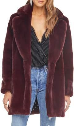ASTR the Label Cleo Faux Fur Coat
