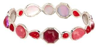 Ippolita Sterling Silver Rock Candy Wonderland Bezel Set Semi-Precious Stone Bangle