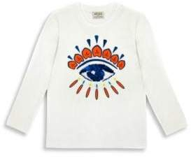 Kenzo Little Boy's & Boy's Sequin Eye Top
