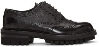 DSQUARED2 Black Tudor Brogues