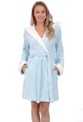 Body Candy Loungewear Women's Plush Hooded Robes with Ears
