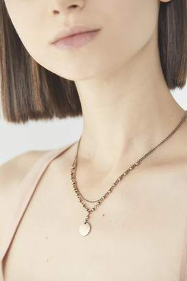 Urban Outfitters Danni Beaded Tag Necklace