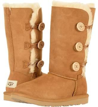 UGG Bailey Button Triplet II Girls Shoes