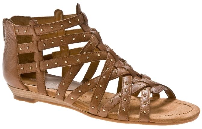 Nine West Macee Leather Gladiator Sandal