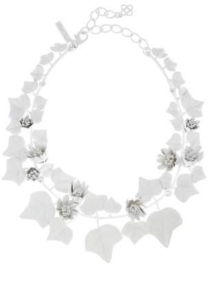 Oscar de la Renta Painted Ivy Necklace