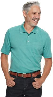 Croft & Barrow Men's Easy-Care Extra-Soft Pocket Polo