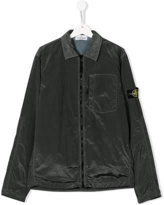 Stone Island Junior TEEN lightweight zip up jacket