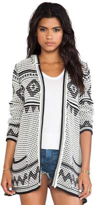 Chaser Women's Hooded Cardigan CW5904 (XS)