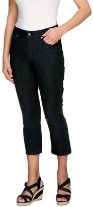 Isaac Mizrahi Live! Petite Cropped Denim Jeans