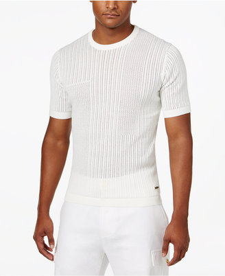 Sean John Men's Knit Eyelet Sweater, Only at Macy's $69.50 thestylecure.com