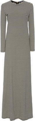 MDS Stripes Exclusive Erika Cotton Jersey Maxi Dress