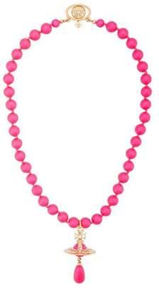 Vivienne Westwood Neon Pearl choker necklace