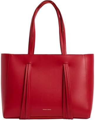Mansur Gavriel Leather Fringe Shoulder Bag