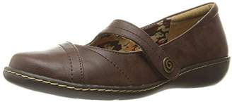 SoftStyle Soft Style by Hush Puppies Women's Jayne Mary Jane Flat,7.5 N US