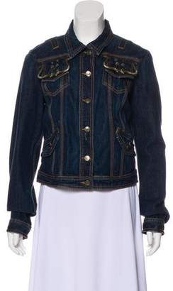 Just Cavalli Casual Denim Jacket