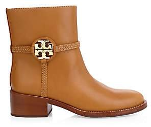 Tory Burch Women's Miller Leather Ankle Boots